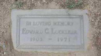 LOCKLEAR, EDWARD C. - Yavapai County, Arizona | EDWARD C. LOCKLEAR - Arizona Gravestone Photos