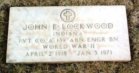LOCKWOOD, JOHN E. - Yavapai County, Arizona | JOHN E. LOCKWOOD - Arizona Gravestone Photos