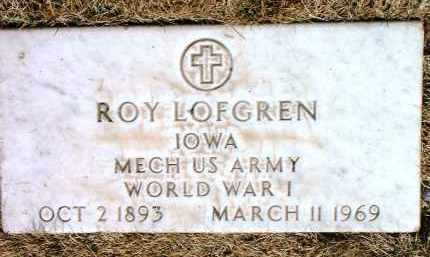 LOFGREN, ROY - Yavapai County, Arizona | ROY LOFGREN - Arizona Gravestone Photos