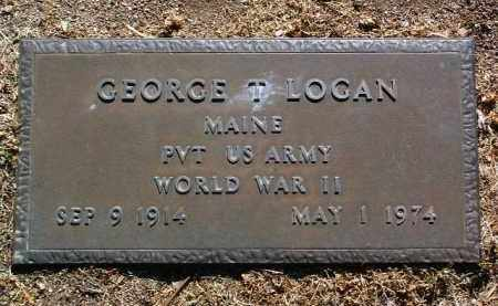 LOGAN, GEORGE THOMAS - Yavapai County, Arizona | GEORGE THOMAS LOGAN - Arizona Gravestone Photos
