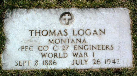 LOGAN, THOMAS - Yavapai County, Arizona | THOMAS LOGAN - Arizona Gravestone Photos