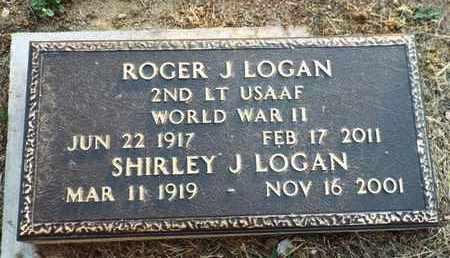 LOGAN, ROGER J. - Yavapai County, Arizona | ROGER J. LOGAN - Arizona Gravestone Photos
