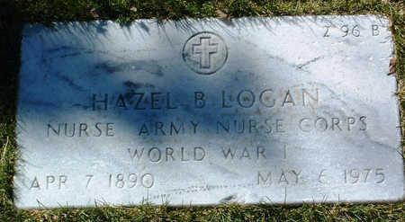 LOGAN, HAZEL B. - Yavapai County, Arizona | HAZEL B. LOGAN - Arizona Gravestone Photos