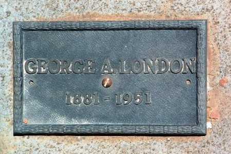 LONDON, GEORGE ALONZO - Yavapai County, Arizona | GEORGE ALONZO LONDON - Arizona Gravestone Photos