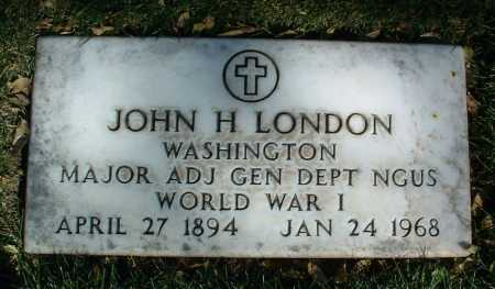 LONDON, JOHN H. - Yavapai County, Arizona   JOHN H. LONDON - Arizona Gravestone Photos