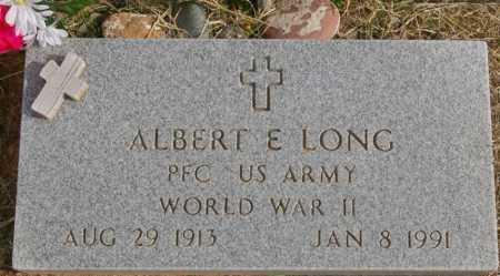 LONG, ALBERT EDWARD - Yavapai County, Arizona | ALBERT EDWARD LONG - Arizona Gravestone Photos