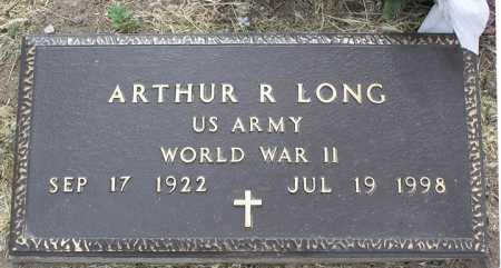 LONG, ARTHUR ROBERT - Yavapai County, Arizona   ARTHUR ROBERT LONG - Arizona Gravestone Photos