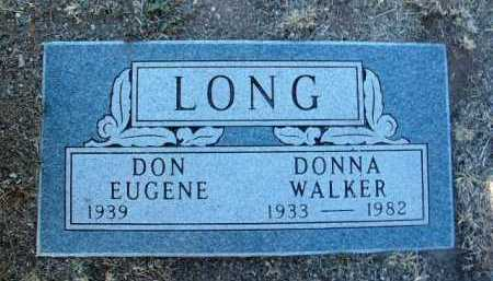 WALKER LONG, DONNA - Yavapai County, Arizona | DONNA WALKER LONG - Arizona Gravestone Photos