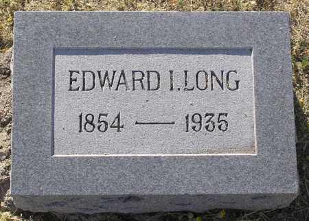 LONG, EDWARD ISAAC - Yavapai County, Arizona | EDWARD ISAAC LONG - Arizona Gravestone Photos