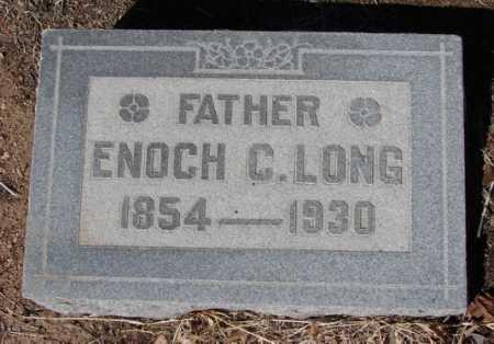 LONG, ENOCH CLOUD (DR.) - Yavapai County, Arizona | ENOCH CLOUD (DR.) LONG - Arizona Gravestone Photos