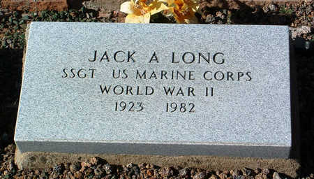 LONG, JACK A. - Yavapai County, Arizona | JACK A. LONG - Arizona Gravestone Photos
