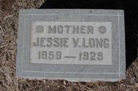 LONG, JESSIE V. - Yavapai County, Arizona   JESSIE V. LONG - Arizona Gravestone Photos