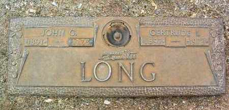 LONG, JOHN GRAVE - Yavapai County, Arizona | JOHN GRAVE LONG - Arizona Gravestone Photos