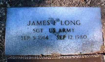 LONG, JAMES F. - Yavapai County, Arizona   JAMES F. LONG - Arizona Gravestone Photos