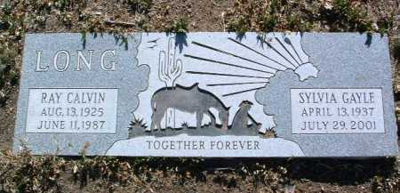 LONG, RAY CALVIN - Yavapai County, Arizona | RAY CALVIN LONG - Arizona Gravestone Photos