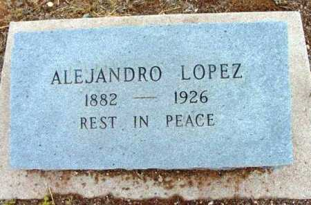 LOPEZ, ALEJANDRO - Yavapai County, Arizona | ALEJANDRO LOPEZ - Arizona Gravestone Photos