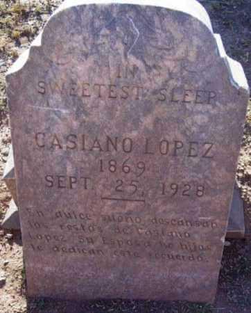 LOPEZ, CASIANO - Yavapai County, Arizona | CASIANO LOPEZ - Arizona Gravestone Photos