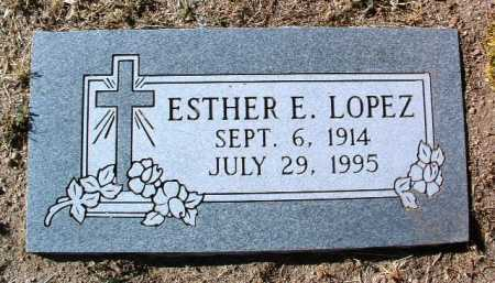 ENCINAS LOPEZ, ESTHER E. - Yavapai County, Arizona | ESTHER E. ENCINAS LOPEZ - Arizona Gravestone Photos