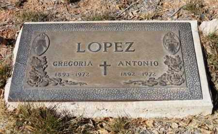 LOPEZ, GREGORIA - Yavapai County, Arizona | GREGORIA LOPEZ - Arizona Gravestone Photos