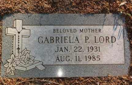 LORD, GABRIELA - Yavapai County, Arizona | GABRIELA LORD - Arizona Gravestone Photos