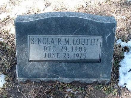 LOUTTIT, SINCLAIR - Yavapai County, Arizona | SINCLAIR LOUTTIT - Arizona Gravestone Photos