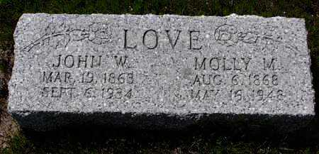 JACKSON LOVE, MARY (MOLLIE) - Yavapai County, Arizona | MARY (MOLLIE) JACKSON LOVE - Arizona Gravestone Photos