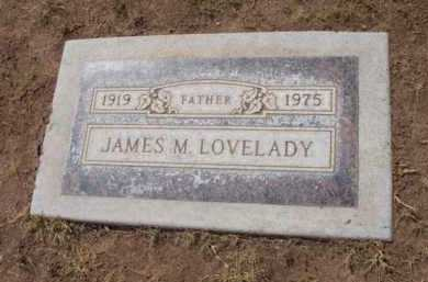 LOVELADY, JAMES MARION - Yavapai County, Arizona   JAMES MARION LOVELADY - Arizona Gravestone Photos