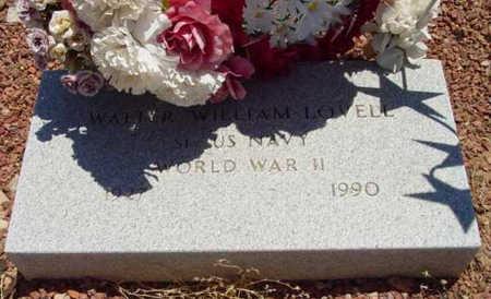 LOVELL, WALTER WILLIAM - Yavapai County, Arizona   WALTER WILLIAM LOVELL - Arizona Gravestone Photos