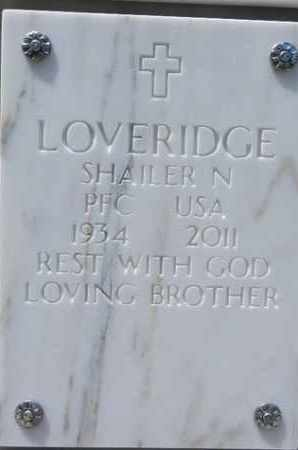 LOVERIDGE, SHAILER N. - Yavapai County, Arizona | SHAILER N. LOVERIDGE - Arizona Gravestone Photos