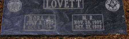 LOVETT, NORA A. - Yavapai County, Arizona | NORA A. LOVETT - Arizona Gravestone Photos