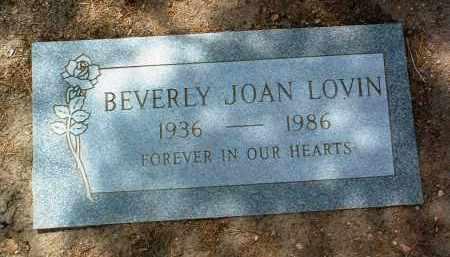 LOVIN, BEVERLY JOAN - Yavapai County, Arizona | BEVERLY JOAN LOVIN - Arizona Gravestone Photos