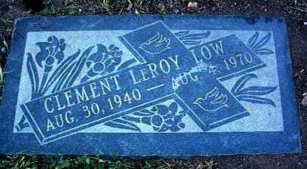 LOW, CLEMENT LEROY - Yavapai County, Arizona | CLEMENT LEROY LOW - Arizona Gravestone Photos