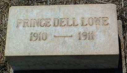 LOWE, PRINCE DELL - Yavapai County, Arizona | PRINCE DELL LOWE - Arizona Gravestone Photos