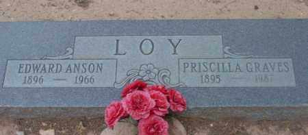 GRAVES LOY, PRISCILLA - Yavapai County, Arizona | PRISCILLA GRAVES LOY - Arizona Gravestone Photos