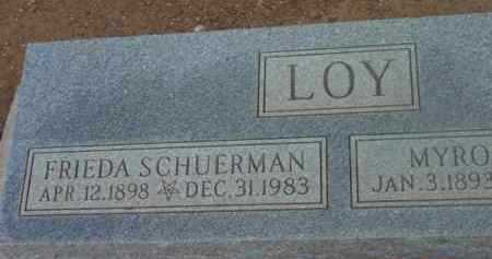 LOY, FRIEDA MARGARETHA - Yavapai County, Arizona | FRIEDA MARGARETHA LOY - Arizona Gravestone Photos