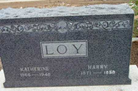 LOY, HARRY - Yavapai County, Arizona | HARRY LOY - Arizona Gravestone Photos
