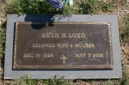 LOYD, RUTH HELEN - Yavapai County, Arizona | RUTH HELEN LOYD - Arizona Gravestone Photos