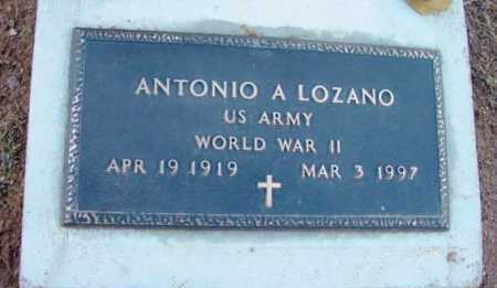 LOZANO, ANTONIO A. - Yavapai County, Arizona | ANTONIO A. LOZANO - Arizona Gravestone Photos