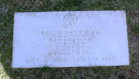 LUCAS, FRANK - Yavapai County, Arizona | FRANK LUCAS - Arizona Gravestone Photos