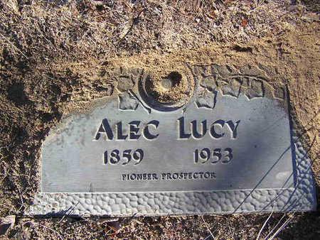 LUCY, ALEC - Yavapai County, Arizona | ALEC LUCY - Arizona Gravestone Photos