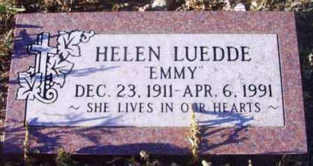 LUEDDE, HELEN (EMMY) - Yavapai County, Arizona | HELEN (EMMY) LUEDDE - Arizona Gravestone Photos