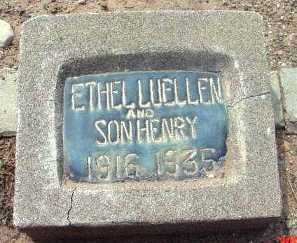 LUELLEN, ETHEL - Yavapai County, Arizona   ETHEL LUELLEN - Arizona Gravestone Photos