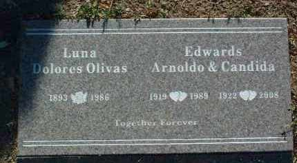 OLIVAS LUNA, DOLORES - Yavapai County, Arizona | DOLORES OLIVAS LUNA - Arizona Gravestone Photos