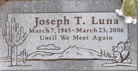 LUNA, JOSEPH TELESFOR - Yavapai County, Arizona | JOSEPH TELESFOR LUNA - Arizona Gravestone Photos