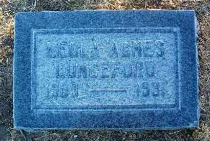 LUNCEFORD, LEONA AGNES - Yavapai County, Arizona   LEONA AGNES LUNCEFORD - Arizona Gravestone Photos