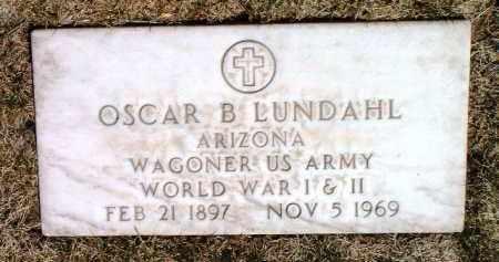LUNDAHL, OSCAR B. - Yavapai County, Arizona | OSCAR B. LUNDAHL - Arizona Gravestone Photos