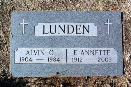 LUNDEN, ALVIN CHARLLES - Yavapai County, Arizona | ALVIN CHARLLES LUNDEN - Arizona Gravestone Photos