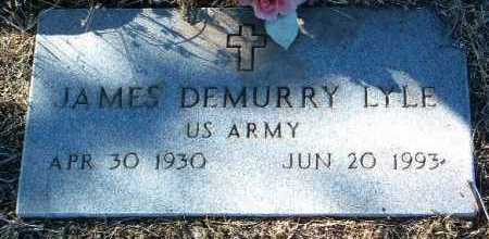 LYLE, JAMES DEMURRY - Yavapai County, Arizona   JAMES DEMURRY LYLE - Arizona Gravestone Photos