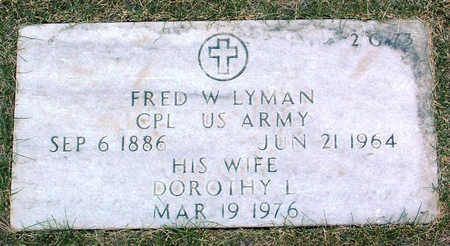 LYMAN, DOROTHY LILLIAN - Yavapai County, Arizona | DOROTHY LILLIAN LYMAN - Arizona Gravestone Photos