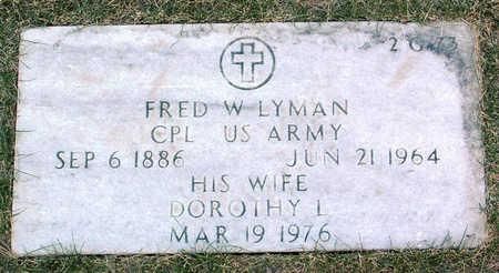 ADAY LYMAN, DOROTHY LILLIAN - Yavapai County, Arizona | DOROTHY LILLIAN ADAY LYMAN - Arizona Gravestone Photos